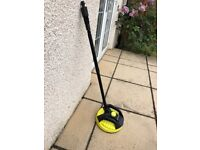 Lidl (Parkside) pressure washer patio brush attachment - fits Karcher