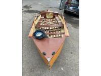 Sail row boat