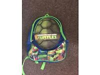 Ninja turtles backpack with padded shell