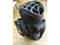 POWAKADDY BLACK CART BAG 14 WAY DIVIDER