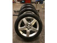 Mercedes Benz original AMG ML jeep alloy wheels an tyres