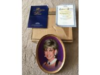 Collectible Diana plate by Davenport. Limited edition. Brand new