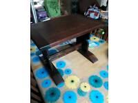 SmallTrestle Coffee Table