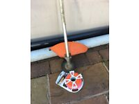 Stihl fs km brushcutter/strimmer attachment with line spool