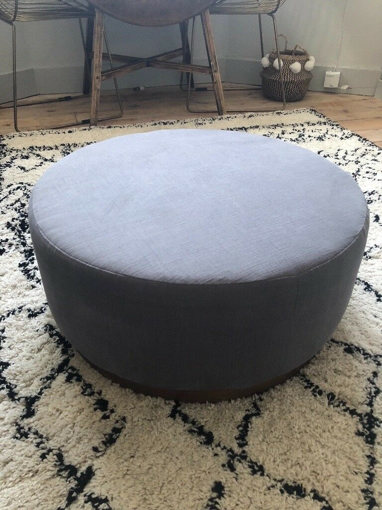 best sneakers 0b2c5 4cd2b Swoon Editions Grey Ottoman / Footstool / Footrest / Pouffe | in Dulwich,  London | Gumtree