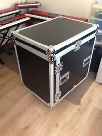 Mixer rack flight case