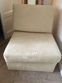 John Lewis single sofa bed