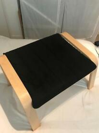 Black Poang footstool