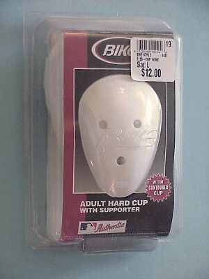 NOS HESPELER REPLACEMENT BLACK ADULT ATHLETIC PROTECTIVE HARD CUP WITH CUSHION