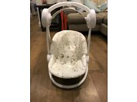 Star lite baby swing from Mamas and Papas