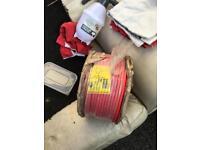 Fire sure fire resistant cable