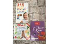 3 Baby weaning books