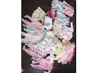 Baby girl 0-3 month bundle