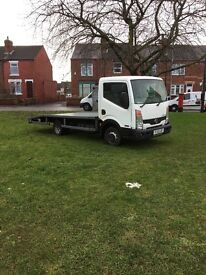 Nissan cabstar recover