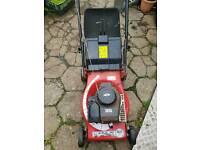 Petrol engine lawnmower