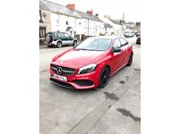 "Mercedes A 200d supreme line AMG package 2146 cc 18"" black spoked alloys, apple car play, night pack"
