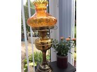 Beautiful brass lamp