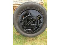 KIA picanto circa 2004 spare wheel, tyre and kit