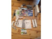 Wii Bundle plus wii balance board, accessories and games - 30GBP