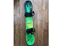 Snowboard and Bindings - Lib Tech Skate Banana / Union Force Bindings