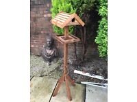 Bird Nesting house and feeder table