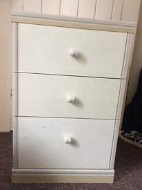 Two dressers (3 drawers)