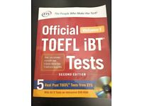 Official Book TOEFL IBT Tests (used)