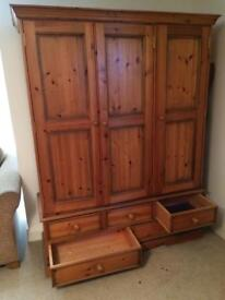 Triple Wardrobe - Solid Wood