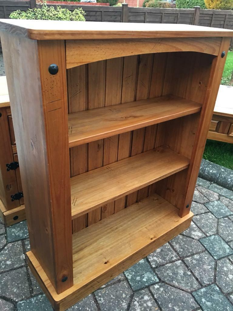 Solid pine bookcase with possible delivery