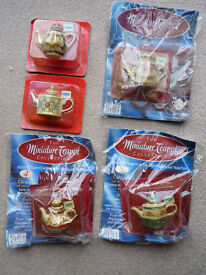 Miniature Teapot Collection