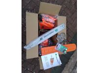 Petrol chainsaw *Brand new