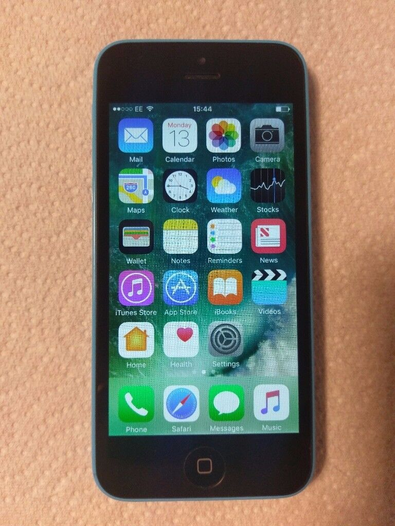 Iphone 5c Blue unlocked perpectly working fine, very good condition
