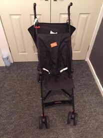 Babyway stroller with sun hood