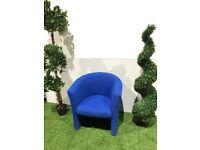 Blue Tub Chair Office / Reception