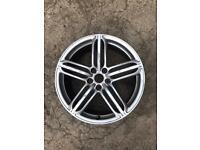 Audi Q3 s line genuine 19 inch alloy wheel
