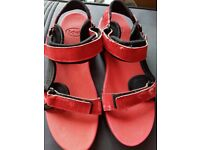 Size 42 ladies Scholl adjustable sandals