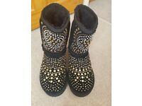 Jimmy choo ugg boots size 6.5