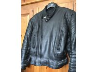 Bike jacket leather