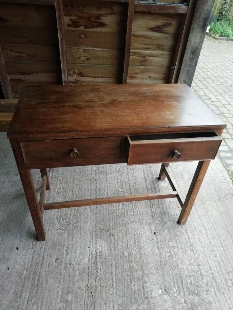 Side Table 100 Cm.Oak Hall Side Table In Hereford Herefordshire Gumtree