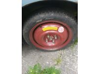 "Genuine Honda Civic 2001-2005 Spare Wheel Space Saver 125/70/15 15"" 15 Inch"