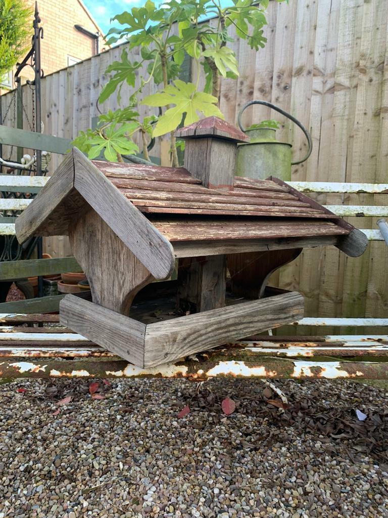 Large German wooden bird house, bird table | in West ...