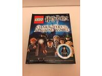 lego harry potter book with figure