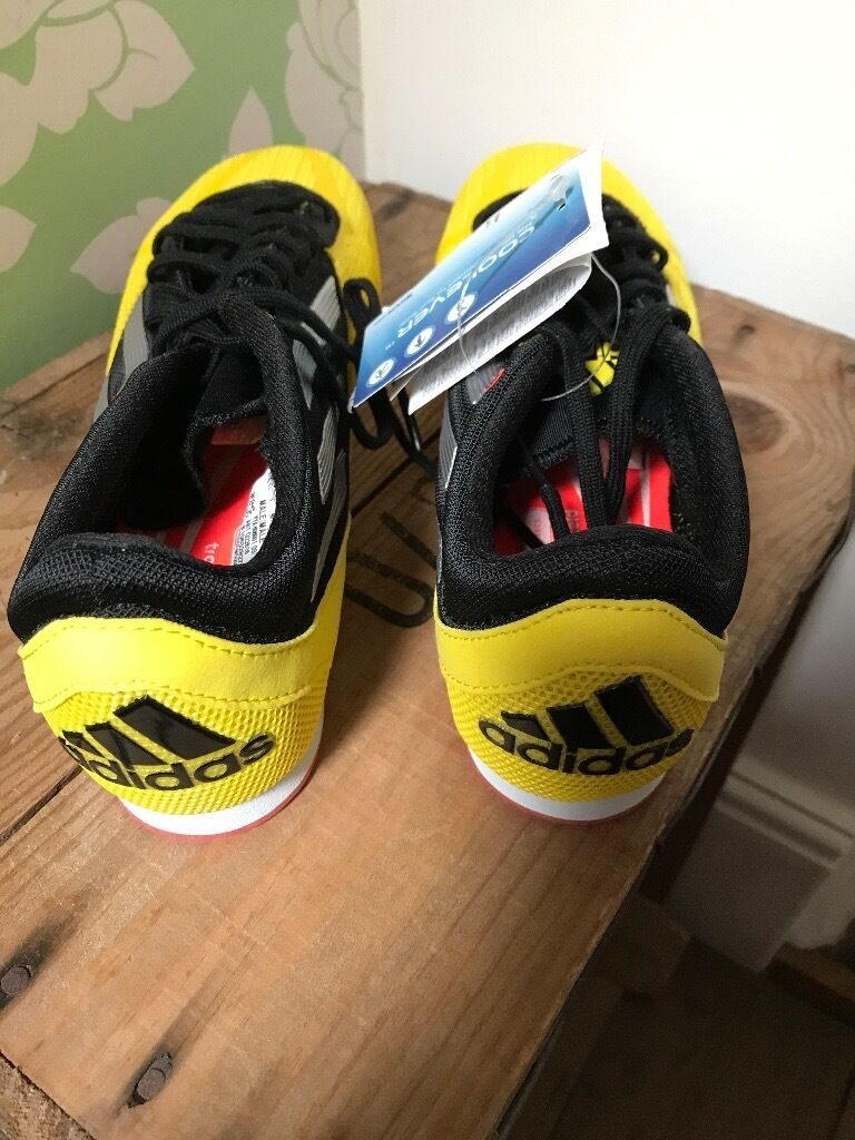 Adidas running shoes (without spikes) size 7 (ukin Fareham, HampshireGumtree - Brand new , with tags Adidas running shoes but unfortunately have lost the spikes ! Can buy spikes separately to screw in Never worn Size 7 (U.K.) Also have for sale a size 6.5 which do have spikes