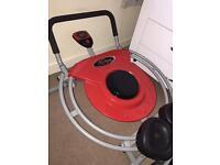 Ab trak circle pro exercise machine