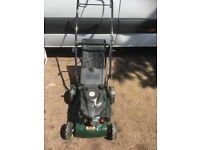 Webb petrol lawnmower