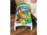 Newborn to toddler chair