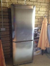 Free Fridge Freezer - Hotpoint Silver American Style