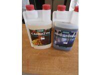 Canna Rhizotonic 1 Litre, Canna Cannazym 1 Litre Hydroponics