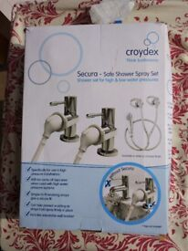 Croydex shower head set for bah taps