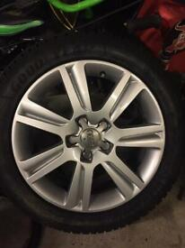 Audi Rims and Winter Tyres